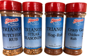 Triano's rubs and seasoning